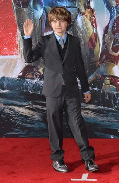 Ty Simpkins in Iron Man 3  #IronMan3 #IronMan3Event