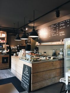 Cozy coffee shop, coffee shop design et bakery cafe. Bakery Shop Interior, Bistro Interior, Coffee Shop Interior Design, Coffee Shop Design, Coffee Cafe Interior, Bistro Decor, Restaurant Berlin, Deco Restaurant, Restaurant Design