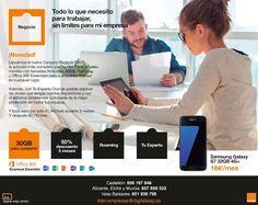 ¿Eres emprendedor? en Digital Wap Center Orange podemos ayudarte, tenemos las mejores ofertas para #Empresas y #Autónomos de Castellón, Alicante, Murcia e Islas Baleares. #Emprendedores #Negocios #España
