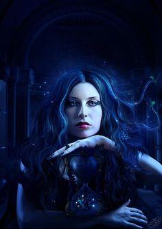 Dark fantasy - Character inspiration for a novel.