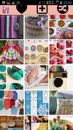 DIY Crochet Sewing Ideas - screenshot