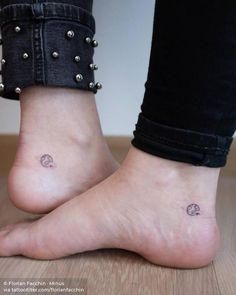 Friendship Little Tattoos, Love Tattoos, Body Art Tattoos, Small Tattoos, Explore Tattoo, Ankle Tattoos For Women, Delicate Tattoo, Friendship Tattoos, Which One Are You