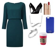 """""""Untitled #21"""" by sselmanagic on Polyvore featuring Dolce&Gabbana, Kate Spade and Charlotte Tilbury"""