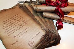 Scroll Invitations for birthday party baby or wedding shower