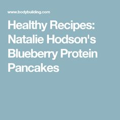 Nothing says fall like the sweet taste of pumpkin. Add the seasonal treat to your meal plan with these dessert recipes that are sure to take any meal to the nines! Low Carb Recipes, Cooking Recipes, Healthy Recipes, Protein Recipes, Bodybuilding Breakfast, Blueberry Protein Pancakes, Protein Powder Shakes, Roasted Apples, Protein Snacks