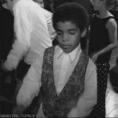 Drake as a toddler