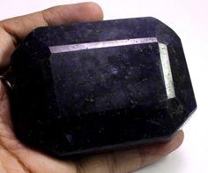 1825ct Big Huge Certified Natural Blue Sapphire Earthmind Loose Gemstone on ebay