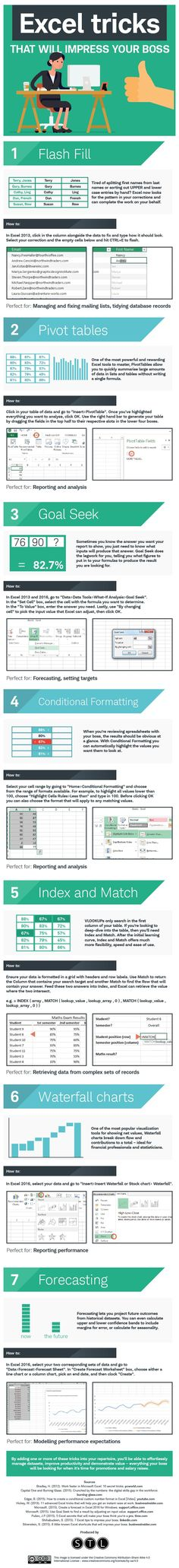 Handy Excel Tricks That'll Impress Your Boss [Infographic] These lesser-known excel tricks are sure to impress your boss!These lesser-known excel tricks are sure to impress your boss! Microsoft Excel, Microsoft Office, Microsoft Windows, Microsoft Hotmail, Lerntyp Test, Excel Tips, Excel Hacks, Vba Excel, Computer Help