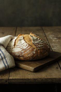 Pan de masa vieja en Cocotte
