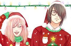 sasusaku merry christmas | Tumblr  #merrychristmas #Sasusaku