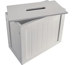 Photos On Buy HOME Slimline Shaker Unit with Lid White at Argos co uk Unit BathroomBathroom ShelvesBathroom
