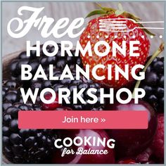 Free Hormone Balancing Workshop