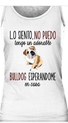 Camiseta de chica con diseño bulldog inglés color blanco Graphic Tank, Tank Tops, T Shirt, Color, Women, Best T Shirts, Girl Shirts, English Bulldogs, White People