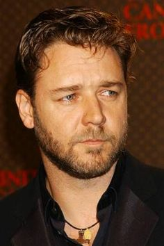 """Russell Crowe Russell says """"I do my bit to improve the world but I think it's very important to get things done on the quiet. I'm sick to death of famous people standing up and using their celebrity to promote a cause. If I see a particular need, I do try to help. But there's a lot that can be achieved by putting a cheque in the right place and shutting up about it"""""""