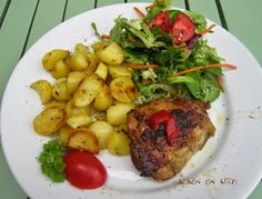 Koken en Kitch: Geroosterde kip met honing, limoen en rozemarijn