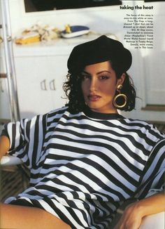 YASMEEN GHAURI ~ a fav of mine! More