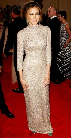 Sarah Jessica Parker in Alexander McQueen Fall 2005. Met Ball 2011.