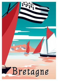 49 Ideas Art Deco Artwork Vintage Posters Artists For 2019 Retro Poster, Vintage Poster, Vintage Travel Posters, Vintage Postcards, Vintage Art, Travel Illustration, Graphic Illustration, Art Deco Artwork, Poster Design
