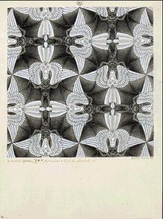 """""""Anges ou Demons"""" Escher"""