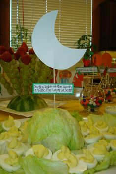 Hungry Caterpillar #8  Great baby shower idea - check out photos #1-25  Love it!