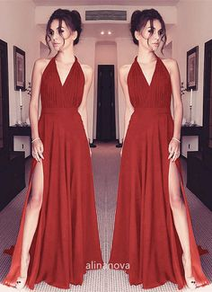 2020 online Chiffon Bridesmaid Long Dresses for maid of honor,wedding party,bridal part ,perfect bridesmaids dresses Burnt Orange Bridesmaid Dresses, Affordable Bridesmaid Dresses, Bridesmaid Dresses Online, Prom Dresses, Dresses Near Me, Wedding Party Dresses, Formal Wedding, Purple Fashion, Formal Gowns