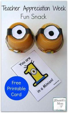 Teacher Appreciation Week Fun Snack by deana