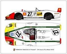 Porsche 908/02 1970