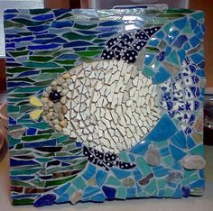 Marina the Fish by Donna Slawsky of Arts & Eats Restaurant and Gallery Credit Village of the Arts
