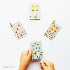Kindergarten, Playing Cards, Games, Instagram, Learning Numbers, Games For Children, Game Ideas, Primary School, Playing Card Games