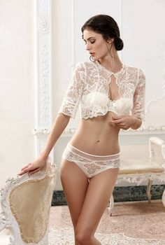 exclusivelyselectedlingerie:  Lise Charmel Bridal Collection 2014
