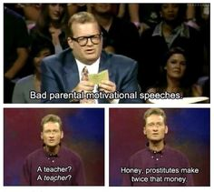 "Because now ""Whose Line"" can provide us with more parenting advice: 