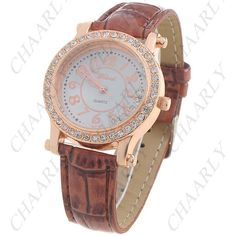 http://www.chaarly.com/women-watches/48709-golden-toned-quartz-pu-leather-wrist-watch-analog-watch-round-case-timepiece-with-rhinestones-for-woman-lady-brown.html