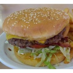Burger rating for Ken's Cafe, Cloverdale