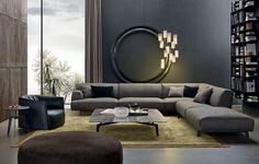 Tribeca Jean-Marie Massaud (2012) Tribeca is a creation of visual impact by Jean-Marie Massaud. The linear shapes of this sofa are enriched by the stylistic detail of the structure. This harmonious combination makes it the protagonist of the living area.