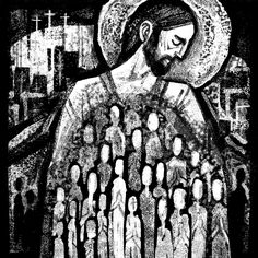 The Reluctant Brood | Kristin Miller Liturgical/Ecclesiastical Illustrations | Patreon