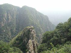 View from Shigu Temple, Dalian, China