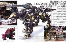 MECHA GUY: HMM ZOIDS 1/72 RZ-046 Shadow Fox
