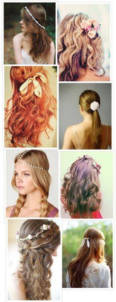 Lovely Long Locks - 16 Long Hair Bridal Styles