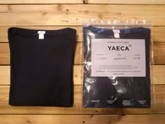 "YAECA BASQUE SHIRTS ""NAVY"" -- 1LDK