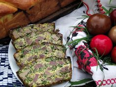 Drob de miel mozaic - CAIETUL CU RETETE Meatloaf, Avocado Toast, Carne, Food And Drink, Cooking, Breakfast, Ethnic Recipes, Easter, Blog