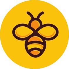 Tree Bees, Honey Label, Honey Wedding Favors, Branding Design, Logo Design, Artist Logo, Bee Cards, Bee Design, Bee Theme