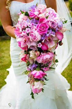 12 потрясающие свадебные букеты - 33 Edition - Belle Журнал
