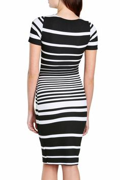 Addison Striped Dress