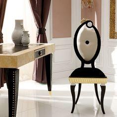 S91 Sedia Collezione Paris by Rozzoni Mobili d'Arte design Statilio Ubiali