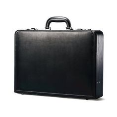 Classic leather attache.