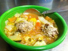crest cafe albondigus soup