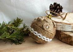 NapadyNavody.sk | Nádherné vianočné ozdoby zo špagátu, ktoré si zamilujete + inšpirácie