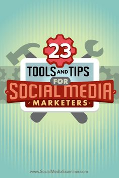 Do you need to streamline your daily social media tasks?  Looking for tools to increase visibility?  The right apps can make a world of difference in the life of a busy social media marketer.  In this article you'll discover 23 of the top tools and tips shared on the Social Media Marketing podcast.