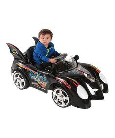 Black Batman Batmobile Ride-on!