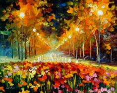 """<p style=""""color: rgb(88, 89, 91); font-family: verdana, arial, helvetica, sans-serif; font-size: 11px;""""> <strong>Title:</strong>ALLEY OF ROSES by Leonid Afremov</p> <p> <br /> <strong>Size:</strong>20""""x24""""; 24""""x36""""; 30""""x40""""; 36""""x48""""</p> <p> <strong>Conditio..."""